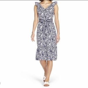 Vineyard Vines for Target Rough Seas Ruffle Dress
